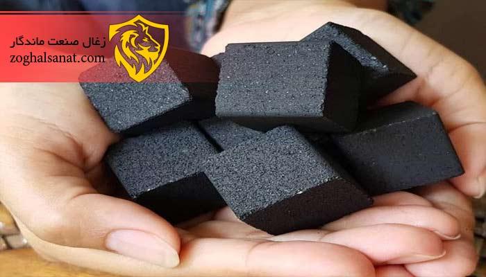 تولید زغال از ضایعات خشک