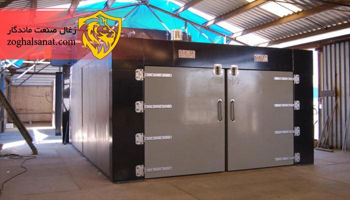 تجهیزات کارگاه تولید زغال