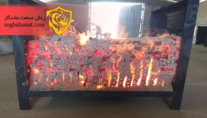 تولید زغال بامبو