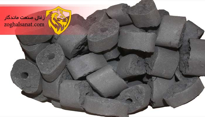 مراحل تولید زغال بریکت یا زغال چینی
