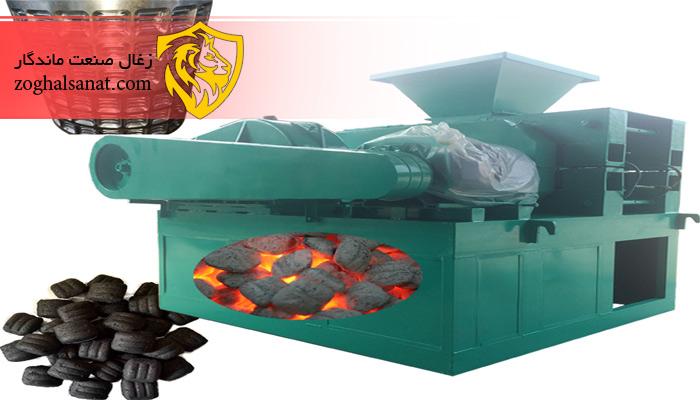 دستگاه اکسترودر تولید زغال